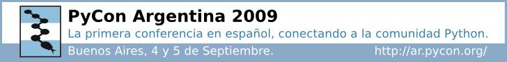 PyConAR-2009-banner-grande